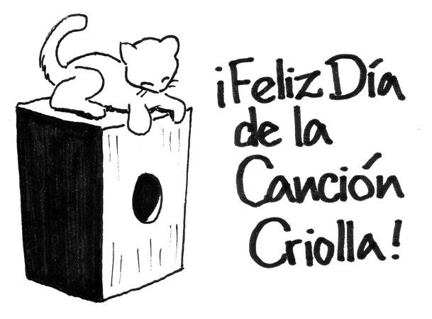 ¡Feliz Día de la Canción Criolla!