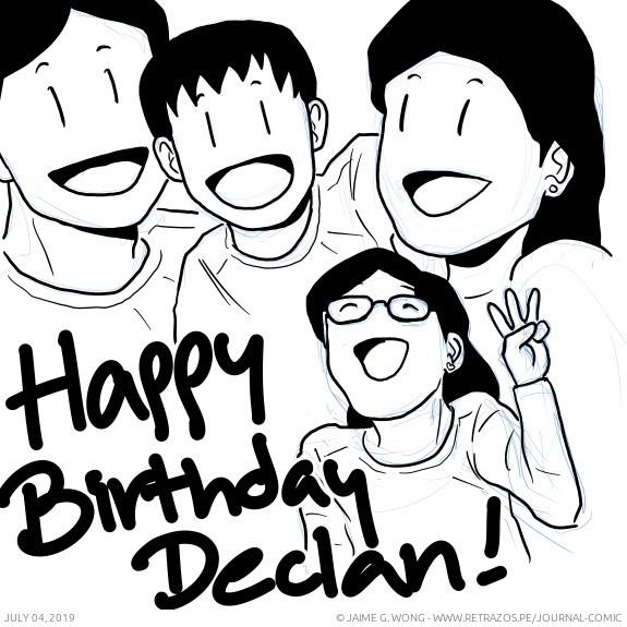 Happy birthday, Declan!