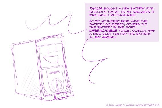 A battery for Ocelot
