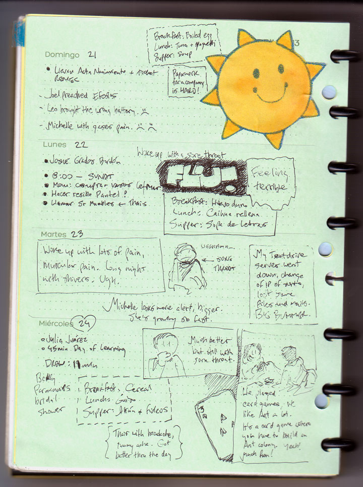 A second paper planner prototype