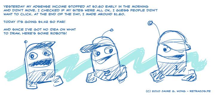 Adsense Blues (and robots!)