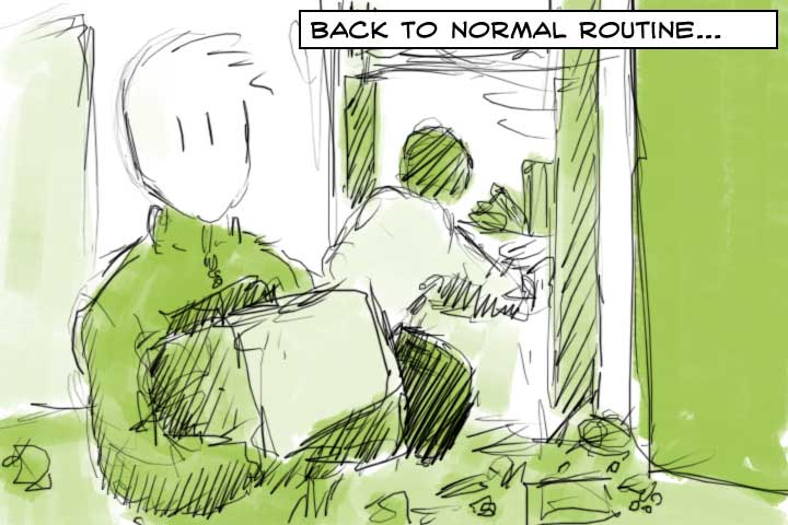 Back to normal routine