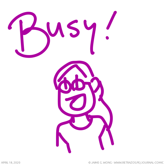 Busy!