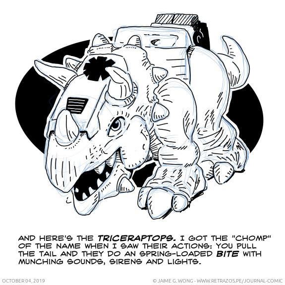 Chomp Squad Triceratops