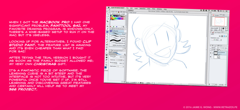 Switched to Clip Studio Paint