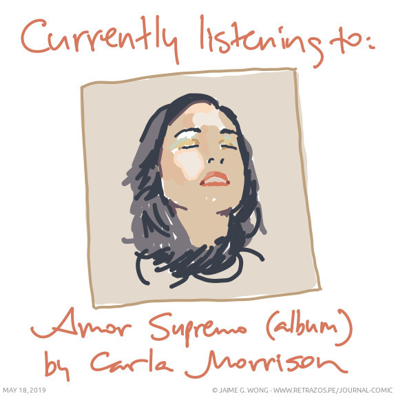 Currently listening to: Amor Supremo (album) by Carla Morrison