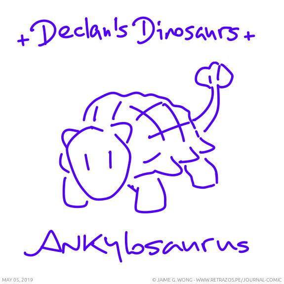 Declan's Dinosaurs: Ankylosaurus