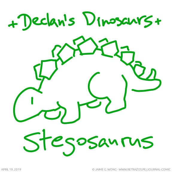 Declan's Dinosaurs: Stegosaurus