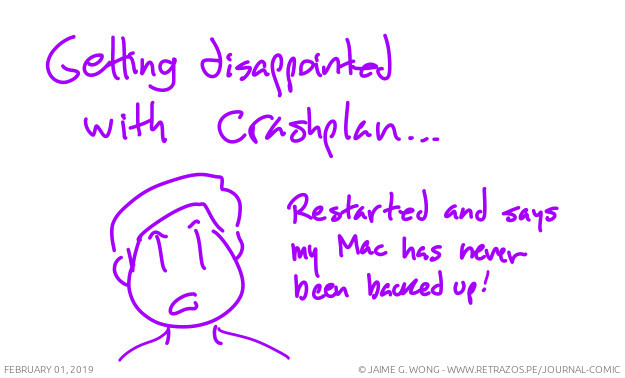 Disappointed with Crashplan