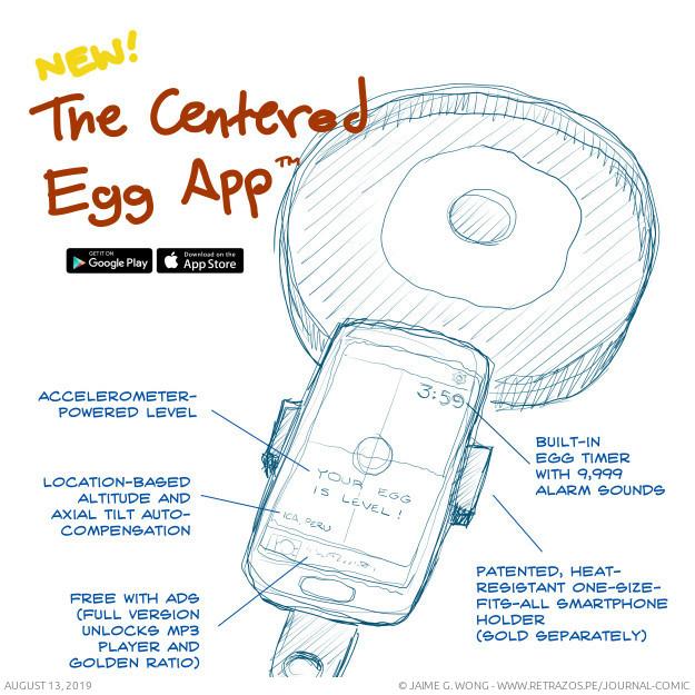 The Egg-Centered App