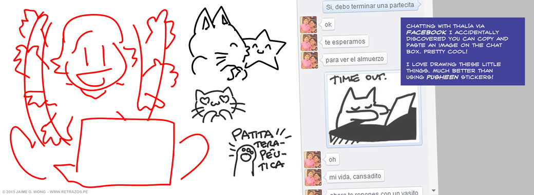 Facebook chat drawings
