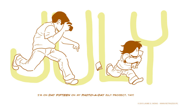 Fifteen days of Photo-a-Day!