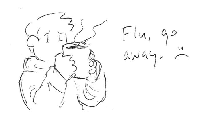 Flu, go away!