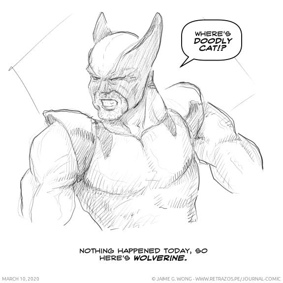 Here's Wolverine