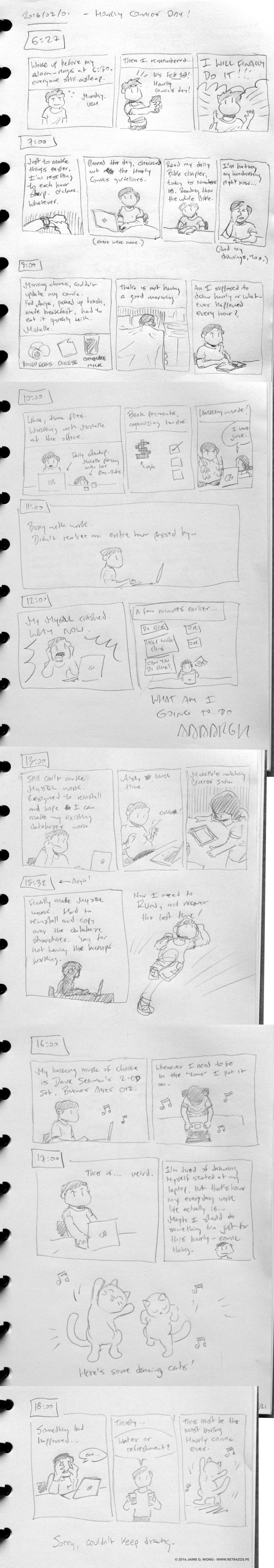 Hourly Comic 2016