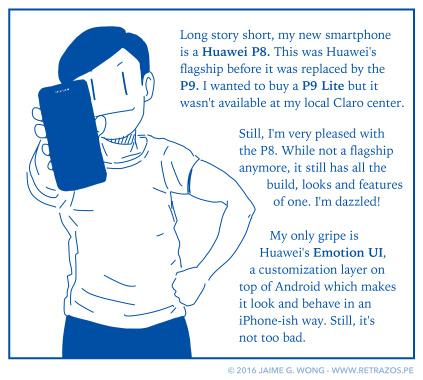 Huawei P8, I choose you!
