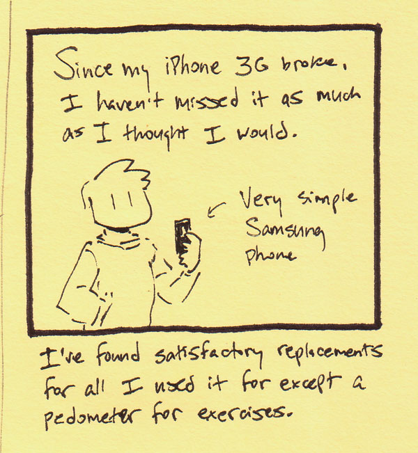 I don't miss my iPhone 3G