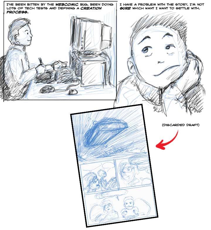 I want to do a Webcomic