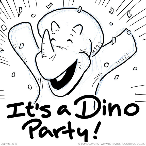 It's a Dino Party!
