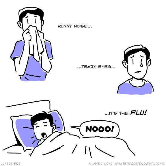 It's the flu!