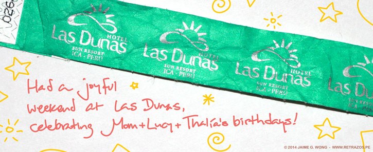 Joyful weekend at Las Dunas