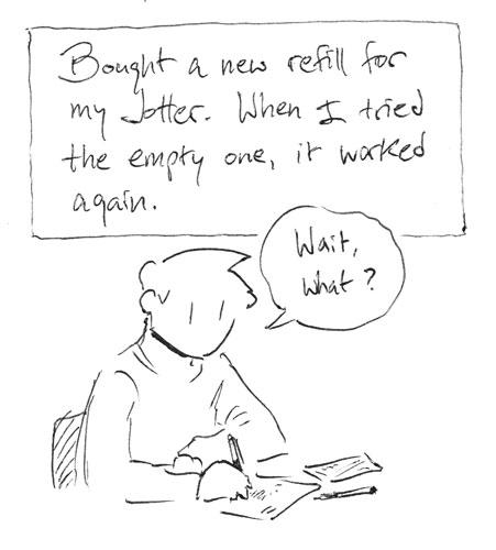 Long-term ink