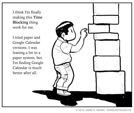 Making Time Blocking work