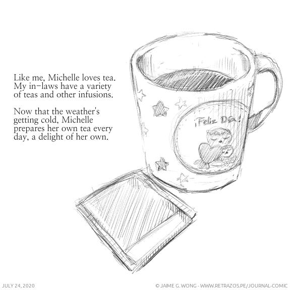 Michelle, tea lover