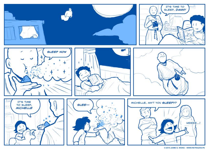 Mr. Sandman, dream me a dream