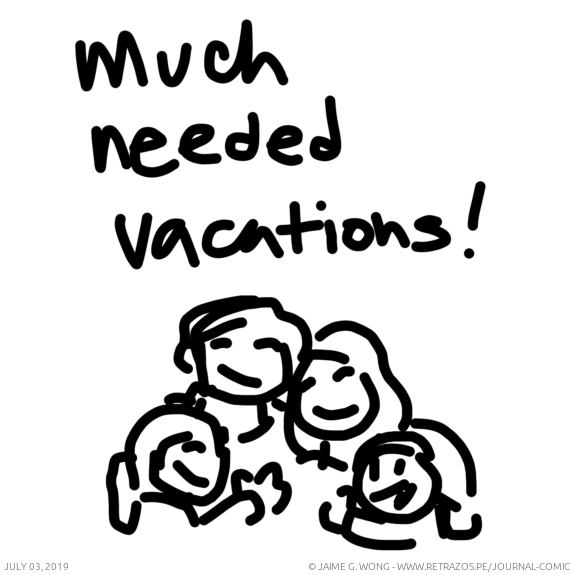Much needed vacations!