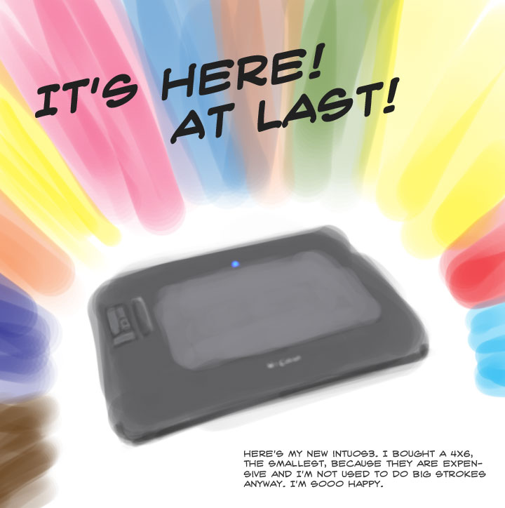 My Intuos3 is here!