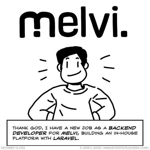 New job at Melvi