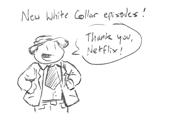 New White Collar episodes
