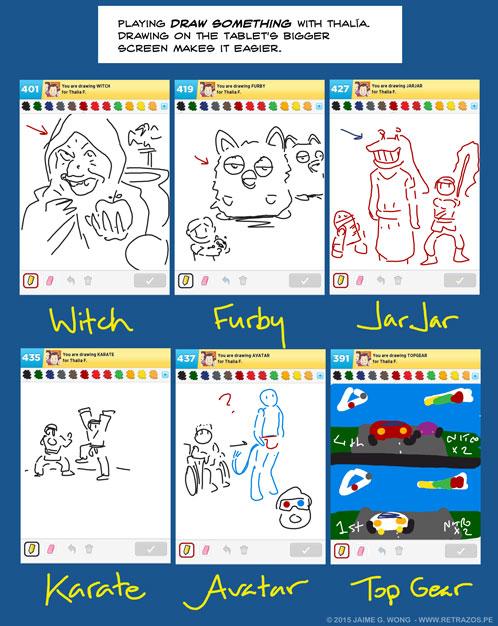 Playing Draw Something