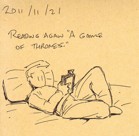 """Reading again """"A Game of Thrones"""""""