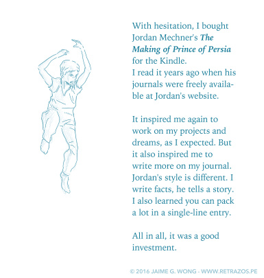 """Reading """"The Making of Prince of Persia"""""""