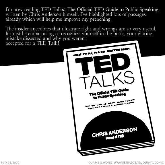 "Reading the ""TED Talks"" book"