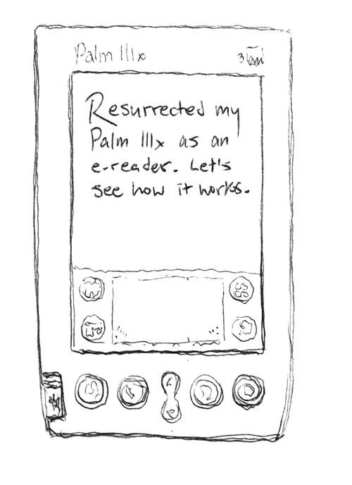 Resurrected my Palm IIIx