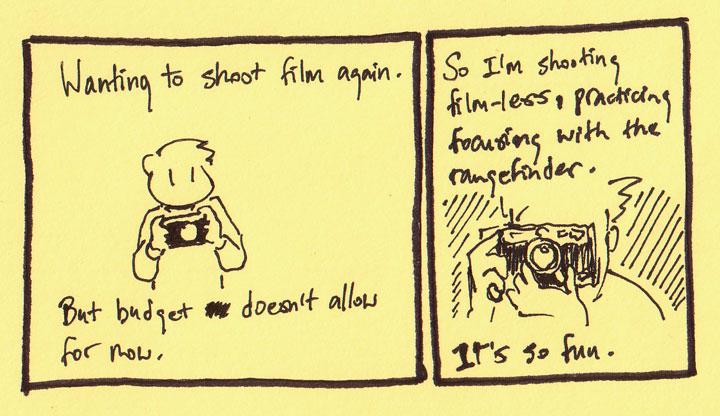 Shooting film-less