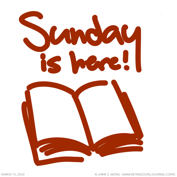 Sunday is here!