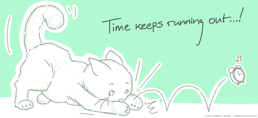 Time keeps running out...!