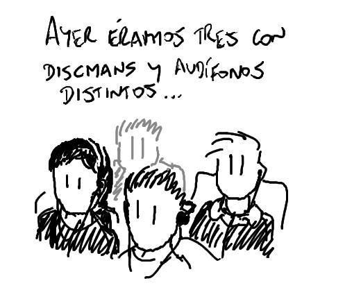Tres Discmans