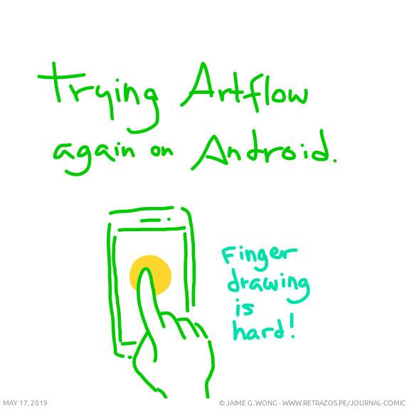 Trying ArtFlow again