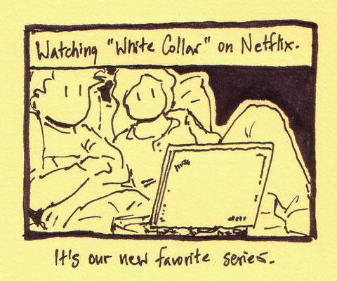 "Watching ""White Collar"""