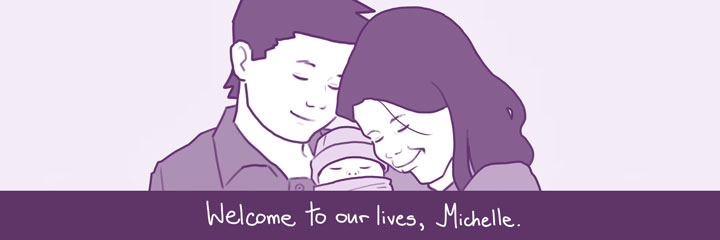 Welcome to our lives, Michelle