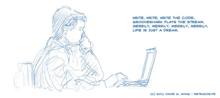 Write, Write, Write the Code